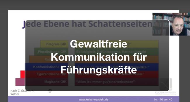 Gratis-Webinar Gewaltfreie Kommunikation für Führungskräfte